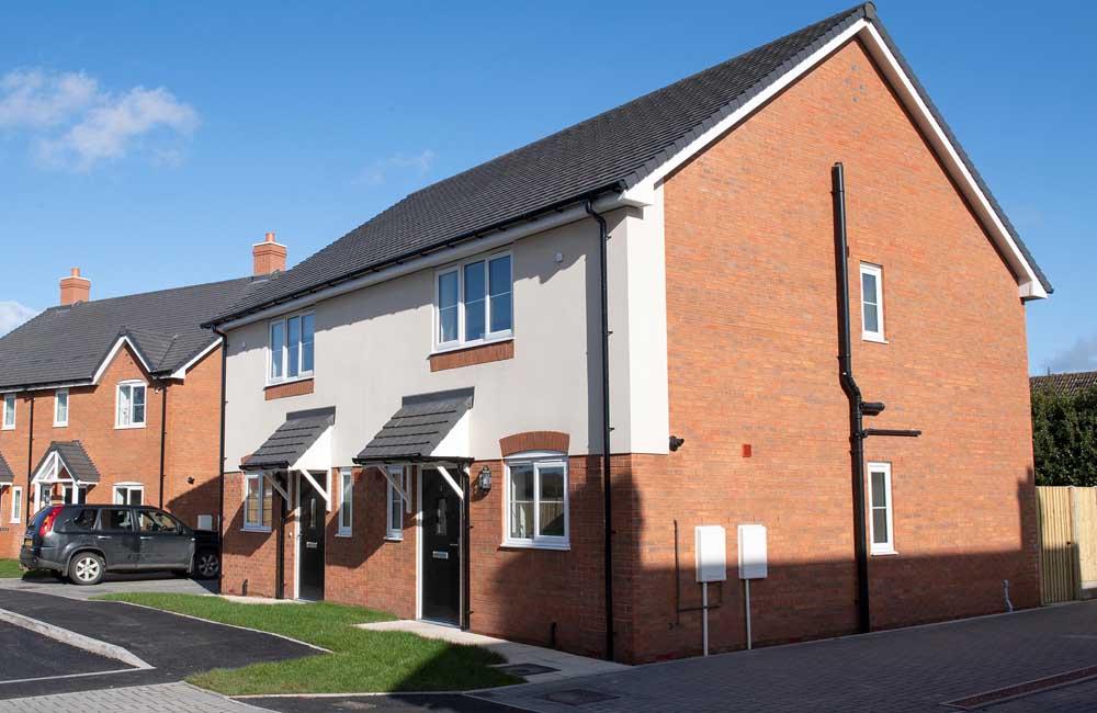 TC Homes housing, Bomere-heath, Shropshire