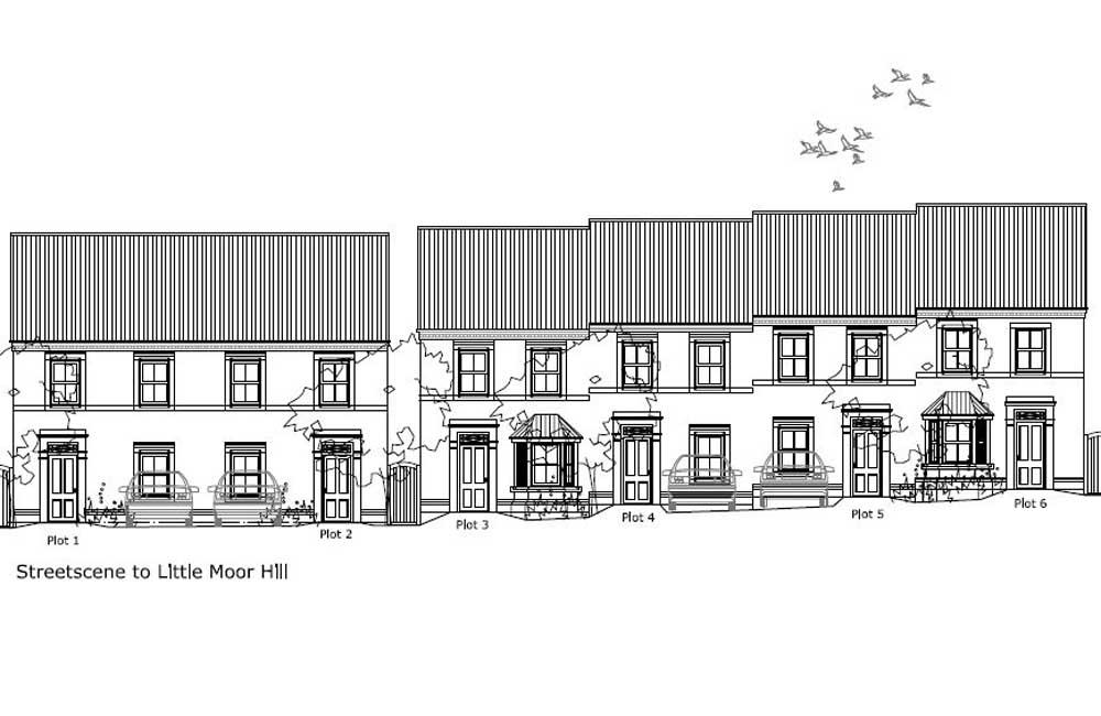 Housing development plan for Shropshire Homes