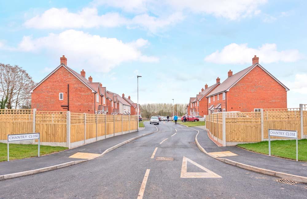 Shropshire housing