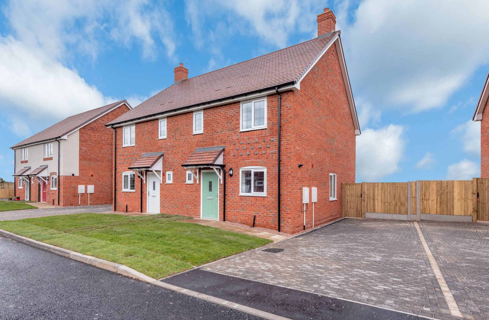 A development of 20 semi-detached two and three-bedroomed houses in Shawbury, Shropshire.  The contract with Floreat Housing Group, worth around £2.2million, began in March 2018 and is expected to complete in March 2019.